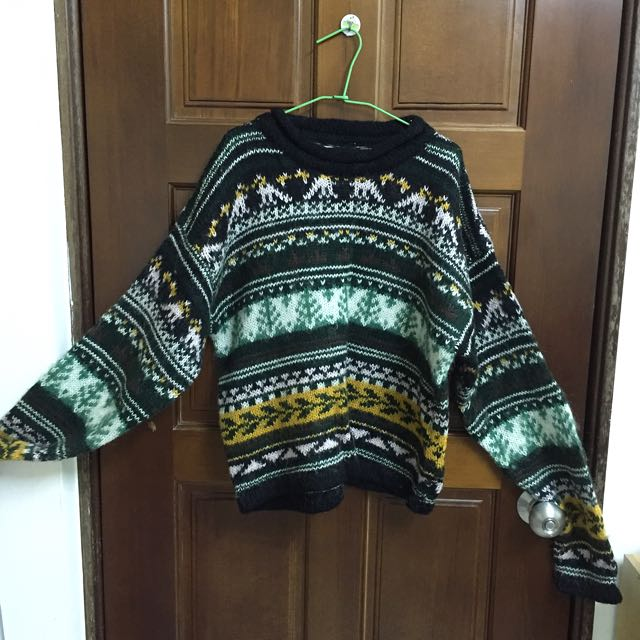 民族圖案毛衣 👀降價嚕