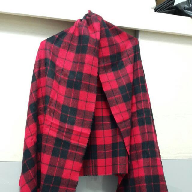 📣降價出售📢👑經典蘇格蘭格紋大披巾