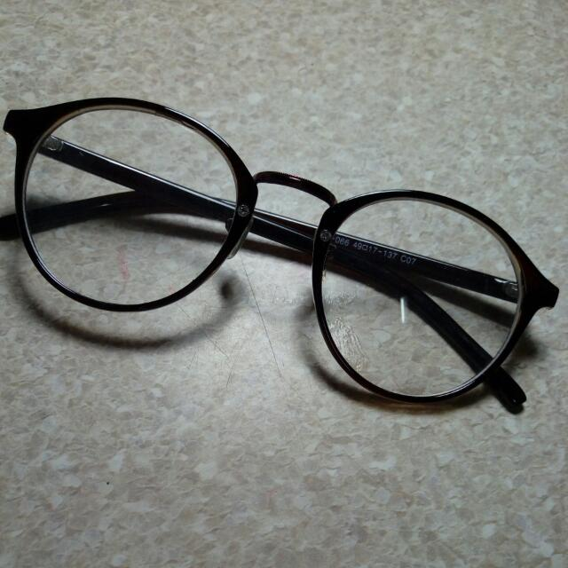 復古小圓框眼鏡