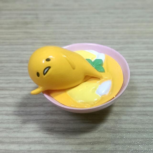 [賣/換] 全新 蛋黃哥 公仔 扭蛋 (壁咚)
