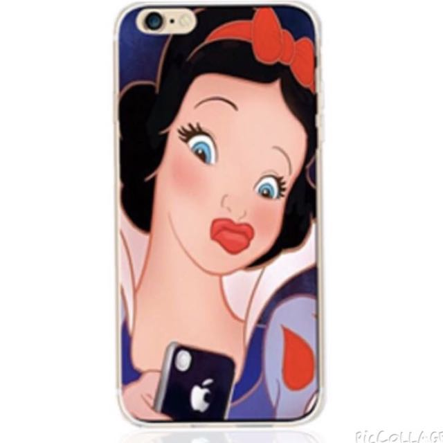 (特價) IPhone 6 6s TPU軟套 惡搞白雪公主 防塵