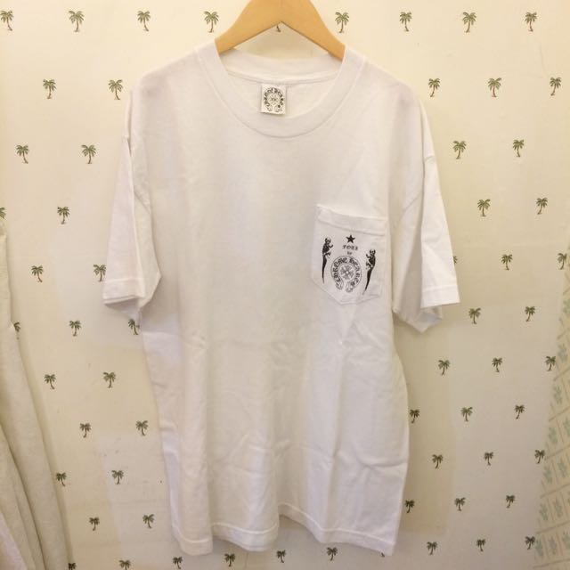 Chrome Hearts Foti by Chrome Hearts 短tee 白色