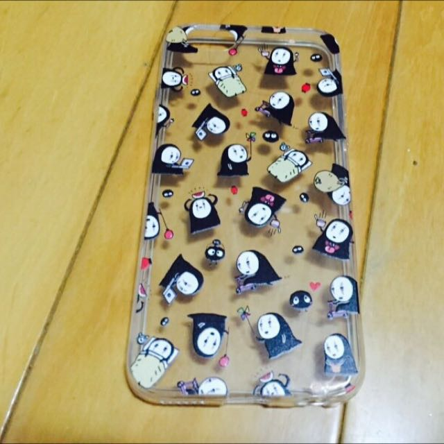 Iphone6/S滿版無臉男手機殼軟殼👻🕸