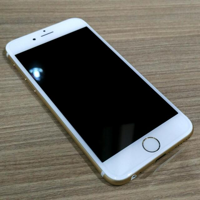 iPhone 6 16GB 金色全新整新機