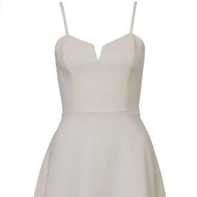 Kookai Saville Dress White