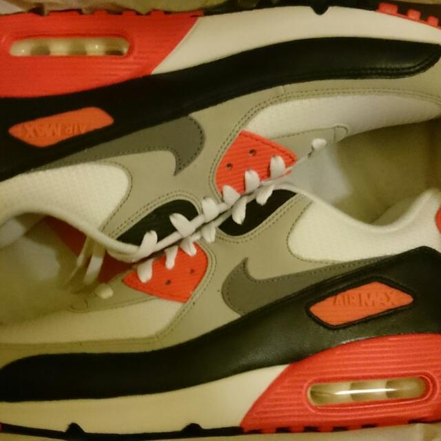 Nike Air Max 90 Infrared OG US 10.5 Mens