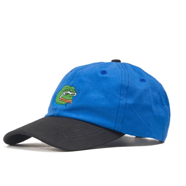 PRETTYNICE x Portfreemans & Co. Sad Frog Dads Cap