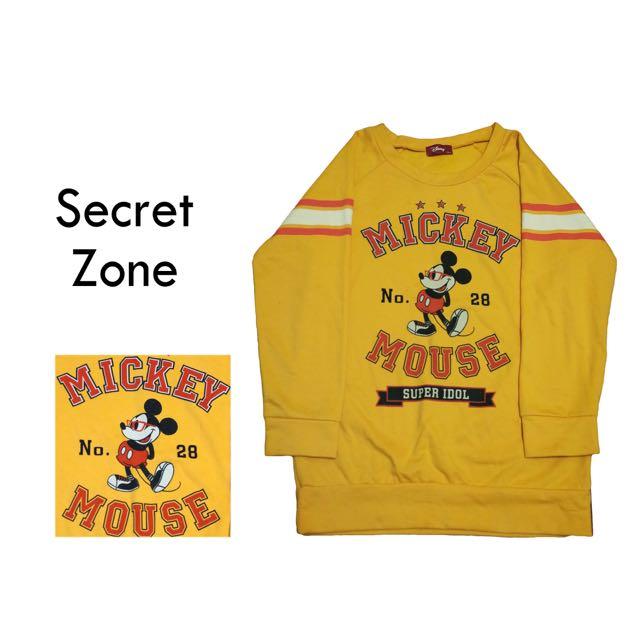 [古著]SECRET ZONE / Disney Mickey 米奇長T