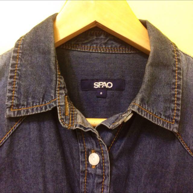 韓國SPAO牛仔襯衫