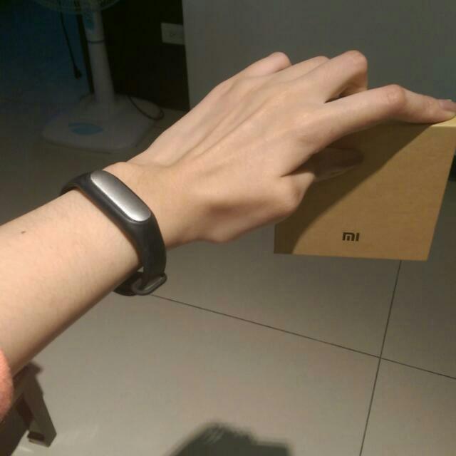 Terricaying客訂小米手環+行動電源😁