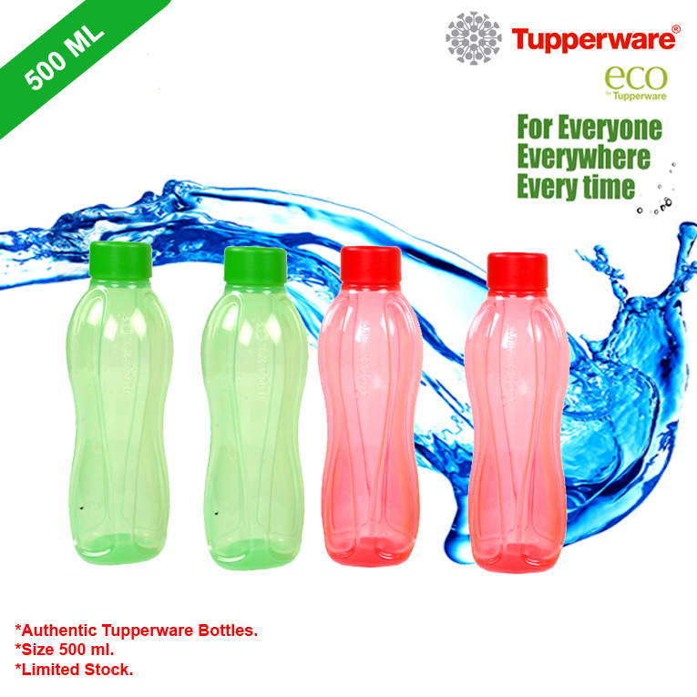 Tupperware Water Bottles Set of 4 pcs