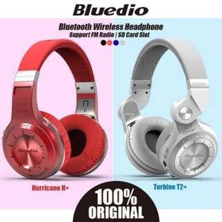 BNIB Bluedio Bluetooth wireless headphones