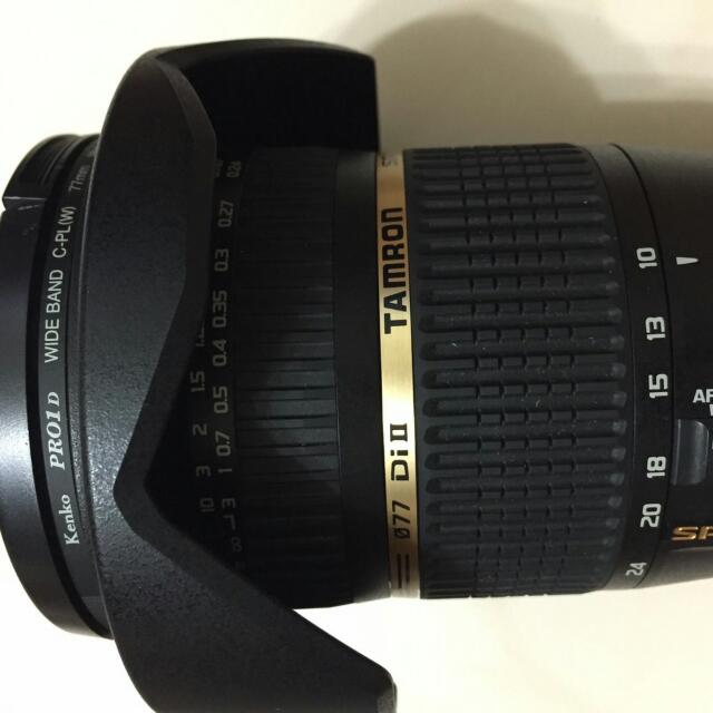 騰龍10-24廣角鏡 Canon