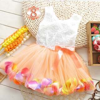 Pretty Frock For Baby- Toddler. Sizes Up To 3 Years. Available In 3 Colors Please PM To Enquire