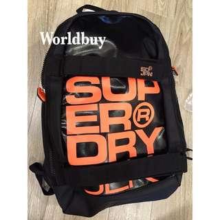 Superdry Super Black 帥到炸防水背包