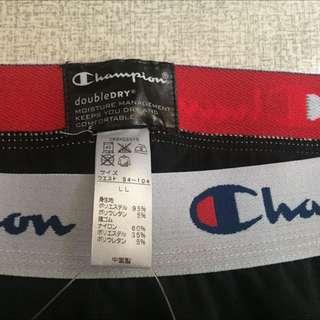 Champion 束口褲 黑色
