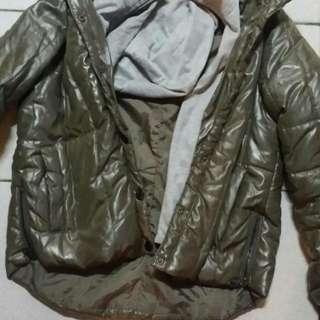 羽絨厚板女裝外套