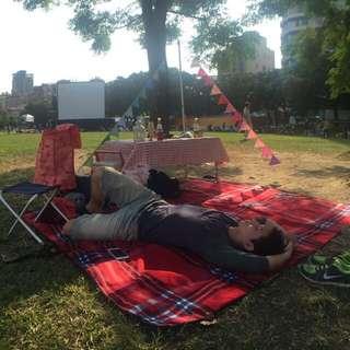 野餐墊紅格子經典野餐墊150x200公分
