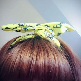 海綿寶寶髮帶(適合日系女孩)