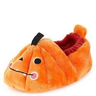 390-現貨,英國進口,超可愛萬聖節南瓜派對嬰兒鞋學步鞋(含郵)