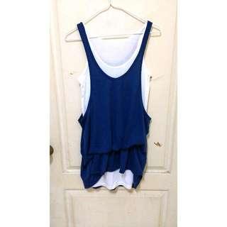 Ruru's Shop🌸全新✨假兩件式休閒洋裝