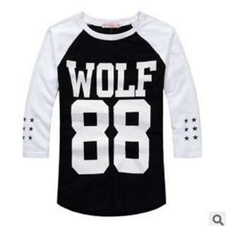 EXO Wolf 88 Raglan Tee