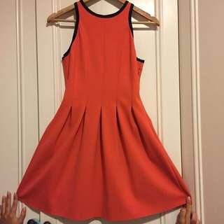Orange Witchery Dress