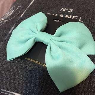 Forever21 Tiffany藍 髮夾 免運費