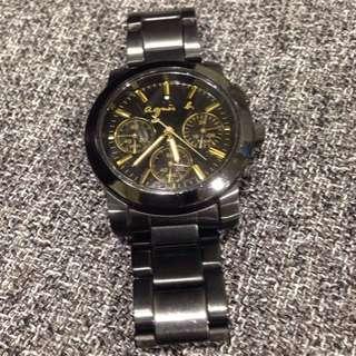 二手出清agnes.b正品手錶購於新光三越