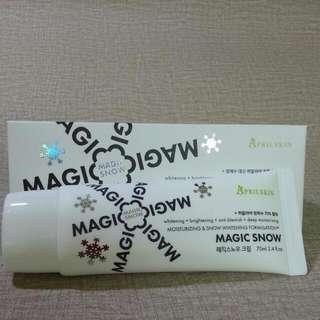 韓國 MAGIC SNOW CREAM 魔法提亮霜