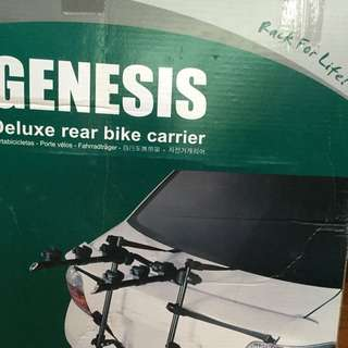 Sedan Car Rear Bike Carrier- Carry Up To 3 Bikes