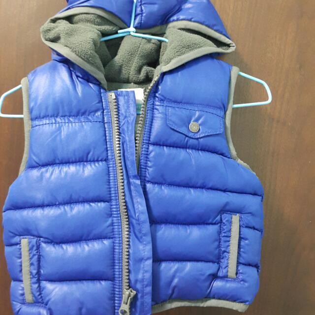 內刷毛保暖背心   6個月至一歲內寶寶適穿