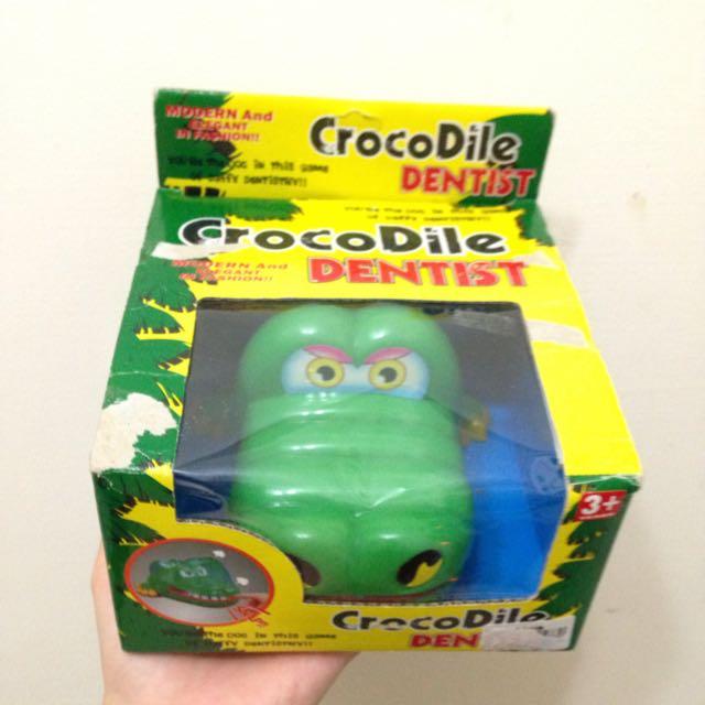 鱷魚 壓牙齒 玩具