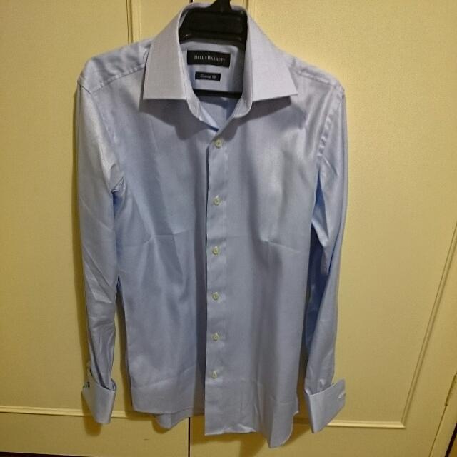 Bell & Barnett Blue Shirt. Size 38 Men's.