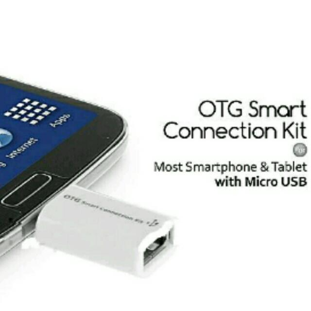 Kabel OTG Micro USB dan USB smart connection kit | On The Go Cable | Android Device, Electronics on Carousell