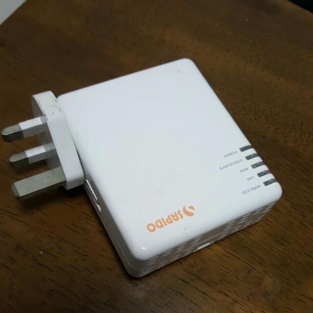 Sapido GR-1102 N+ NES Mini Server 3.5G Mobile Hotspot Router