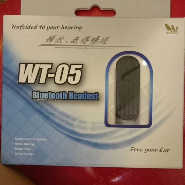 windtac wt-05藍芽耳機