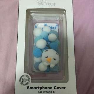 迪士尼iPhone 6/6s雪寶玩偶立體殼
