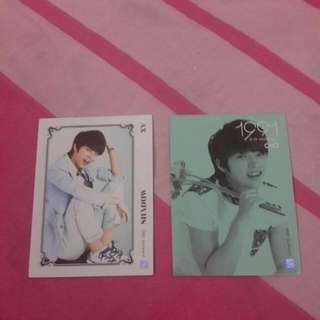 (reserved) Infinite Collection Cards Volume 1 Woohyun