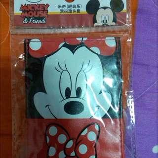 迪士尼米妮證件套