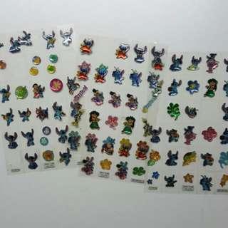 各式貼紙 漂亮貼紙 卡通貼紙 日本貼紙 閃亮 亮晶晶 透明貼紙