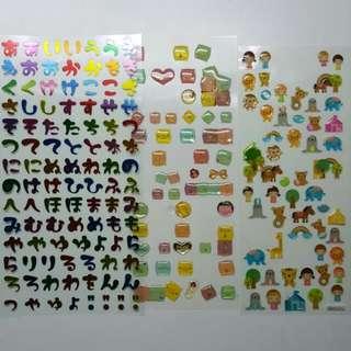 各式貼紙 可愛 透明 漂亮  日本 高級貼紙
