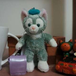 日本迪士尼 傑托尼貓+小書包