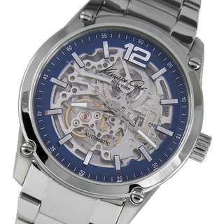 Kenneth Cole Skeleton Blue Dial KC9380