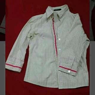 Nicole Quarter Sleeve Shirt