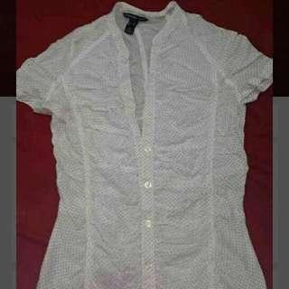 Mango Stretchable Short Sleeve Shirt