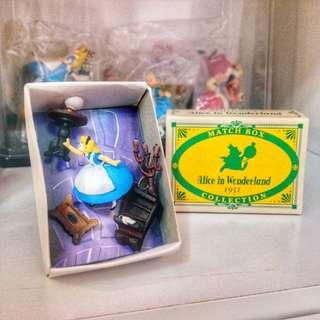 迪士尼 火柴盒 愛麗絲