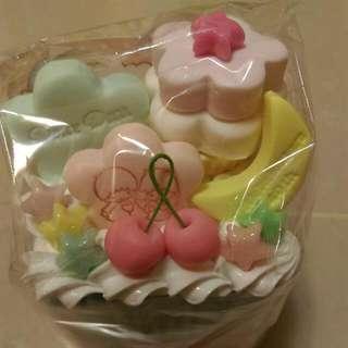 Kiki Lala 雙子星 手工製 棉花棒盒/置物盒
