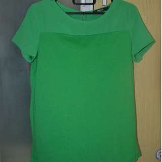 G2000 green blouse size 34