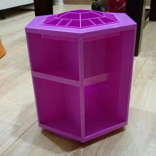 旋轉化妝品收納盒